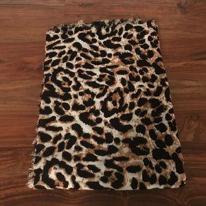 ASOS Leopard  Blanket Scarf
